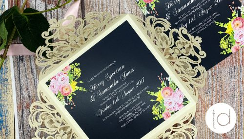Tops Designs - Wedding Invitations