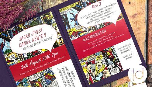 Tops Designs - Wedding Invitations